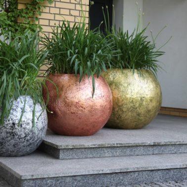 Donice ogrodowe GEA dostępne są w różnych wymiarach