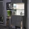 Ekskluzywna witryna do salonu Piryt Glass marki Grad Design